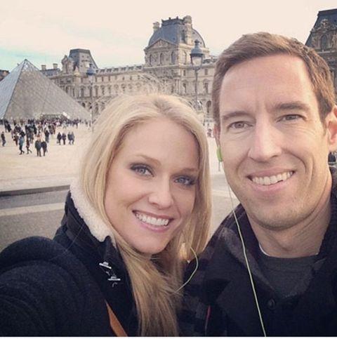 Heidi Watney with her husband Mike Wickham