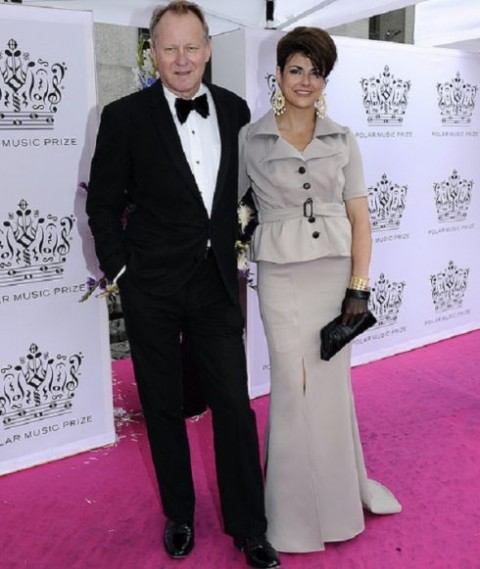 Skarsgard with Meghan
