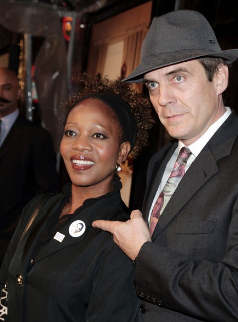 Alfre Woodard(left) with Roderick Spencer(right)