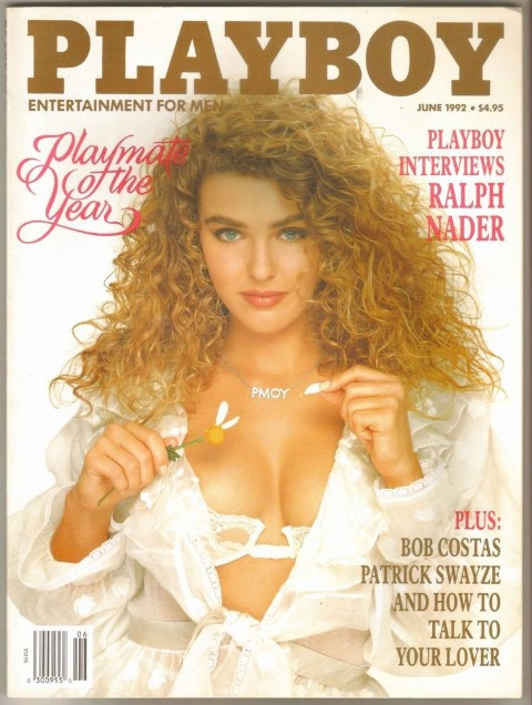 Corinna Harney on the cover of Playboy 1992