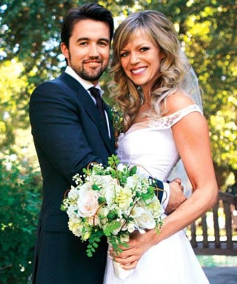 Rob Mcelhenney and his Spouse