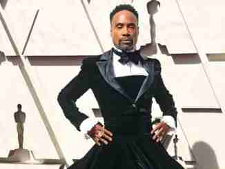 Billy Porter Wears Christian Siriano Dress at 2019 Oscars