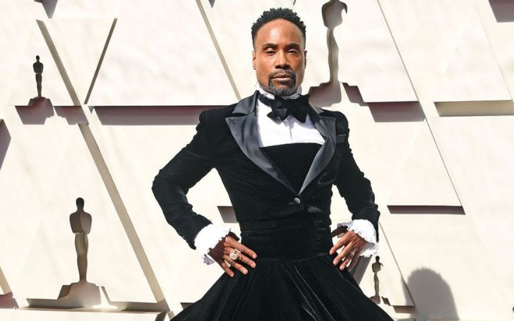 Billy Porter Wears an Epic Christian Siriano Dress on the 2019 Oscars