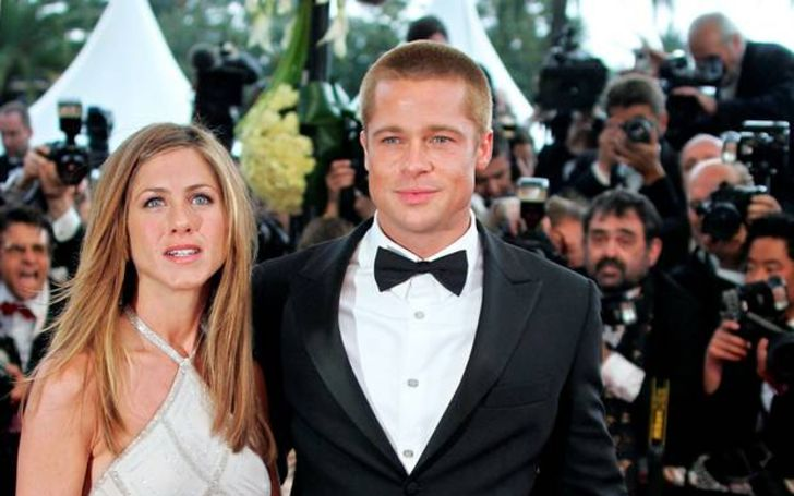 Brad Pitt Attends Ex-Wife Jennifer Aniston's 50th Birthday Party