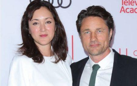 Martin Henderson with Partner Helen Randag