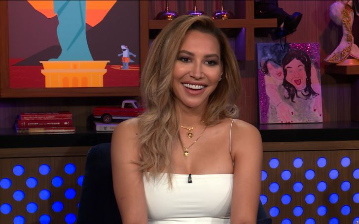 Glee Star Naya Rivera Denies Beef With Co-Star Lea Michele On Watch What Happens Live