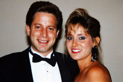 Denise Lombardo with hee Ex-husband