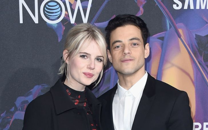Totally In Love! Rami Malek Passionately Kisses His Girlfriend and Gushes over her During her Acceptance Speech