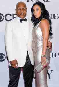 Lakiha Spicer and her husband Mike Tyson
