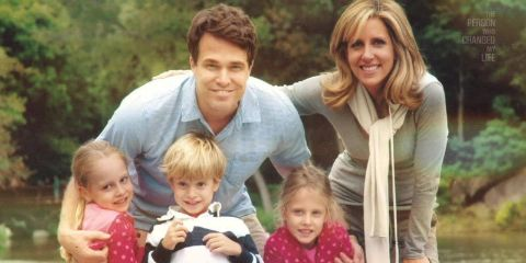 Alisyn Camerota with husband Tim Lewis and children