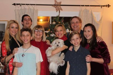 Alyson Kiperman with her Family