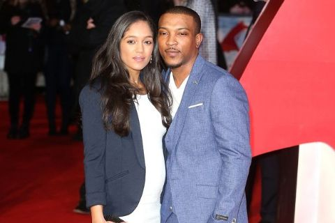 Daniell Isaie and her husband Ashley Walter in photo