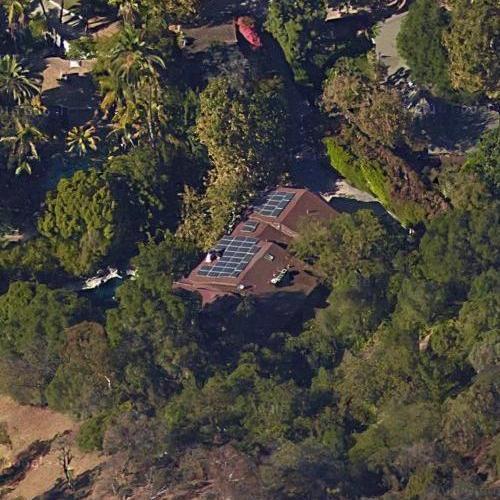 Satellite image of Bill Mager's house