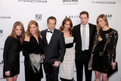 Cuomo Cole Family at a function