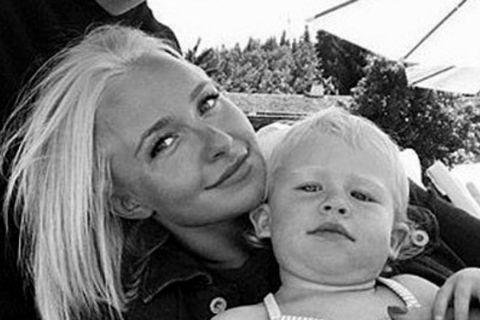 Hayden Panetierre and her daughter Kaya