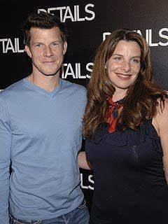 Eric Mabius with his partner Ivy Sherman