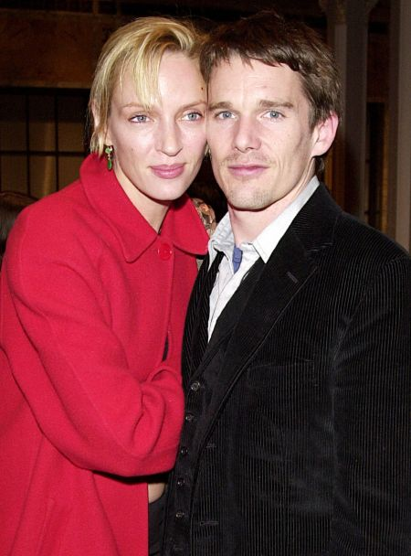 Ethan Hawke and his ex-wife Uma Thurman