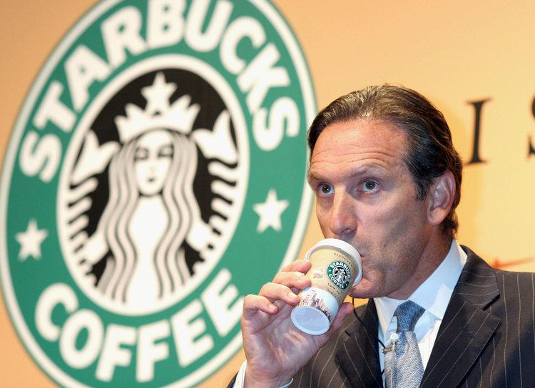 Howard Schultz in Starbucks