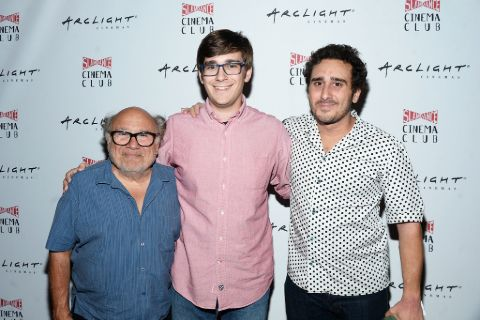 Jake DeVito with his Father at the Mad Productions Event