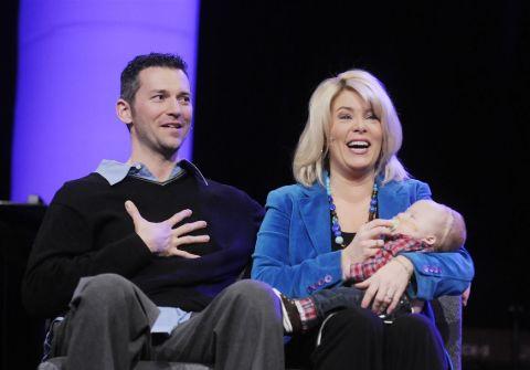 Jason Luhn and Kelly Frey