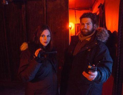 Katrina Weidman and her co-star Jack Bourne Source Instagram