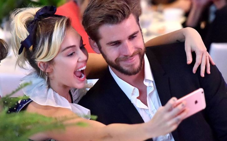 Vanity Fair After Party: Liam Hemsworth and Wife Miley Cyrus Are The Hottest Pair Around