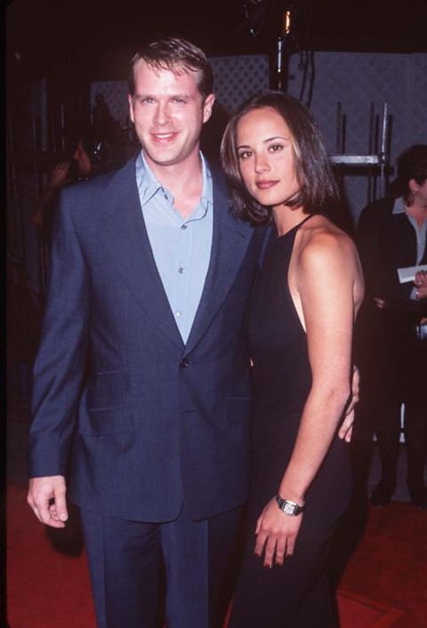 American personalities Lisa Kubikoff and Cary Elwes