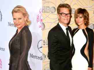Harry Hamlin, Lisa Rinna, and Nicollette Sheridan