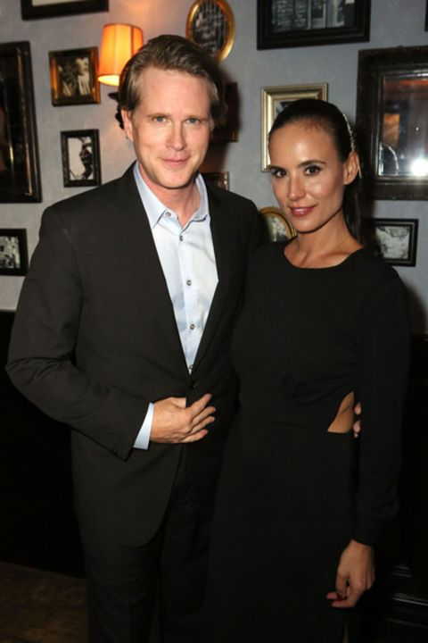 American actor Cary Elwes and his beautiful wife Lisa Kurbikoff