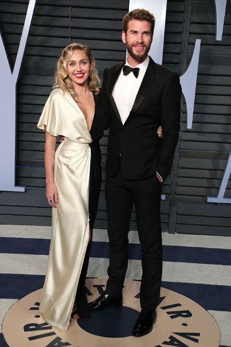 Cyrus and Hemsworth looked stunning at the Oscar's after-party