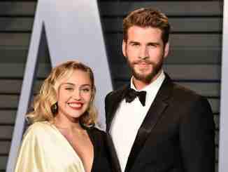 Miley Cyrus and husband Liam Hemsworth
