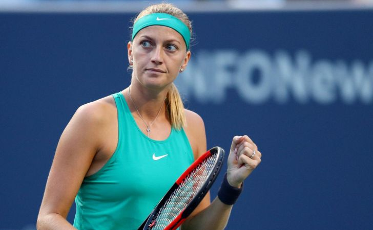 Petra Kvitova is engaged to her fiance Radek Meidl