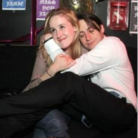 Quinn Culkin with her brother