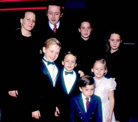 Quinn Culkin with her family