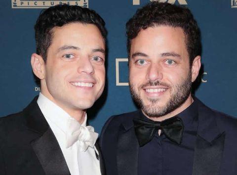 Sami Malek and Rami Malek
