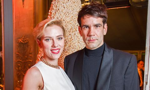 Scarlett Johansson and Romain Dauria