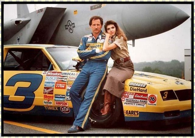 Teresa Earnhardt with her husband Dale Earnhardt