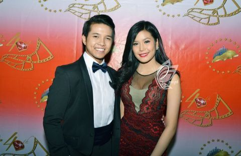 Myrtle Sarrosa and her ex