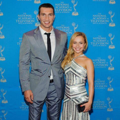 Hayden Panettiere alongside ex-husband Wladimir Klitschko