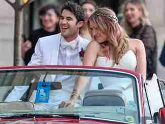 Darren Criss marries longtime partner Mia Swier