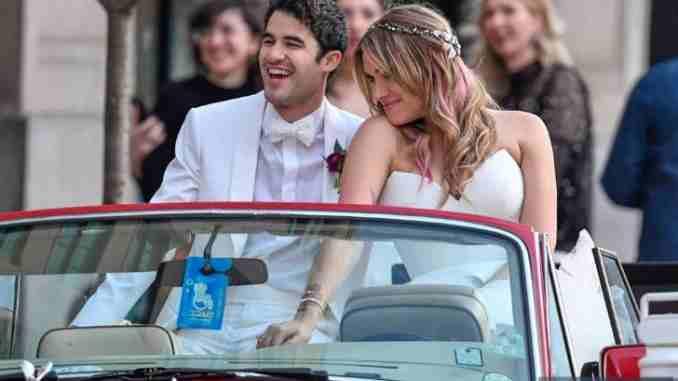 Darren Criss marries longtime partner Mia Swier
