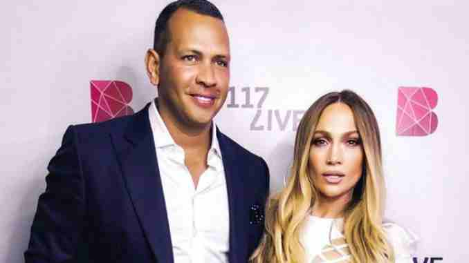 Jennifer Lopez and lover Alex Rodriguez celebrate their two years anniversary