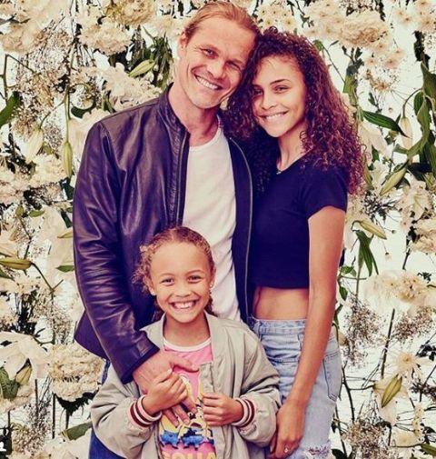 Erik Alas and his Daughters