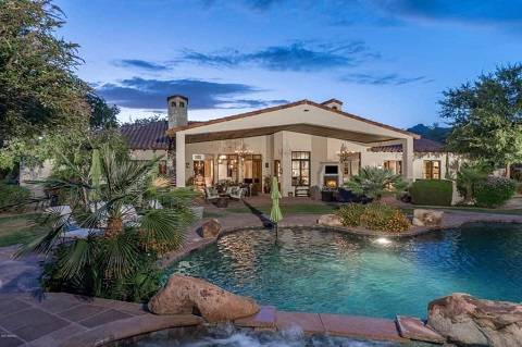 Jeff Honracek's Paradise valley home
