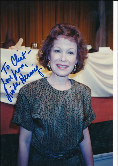 Linda Kaye Henning's Old Signed Photograph