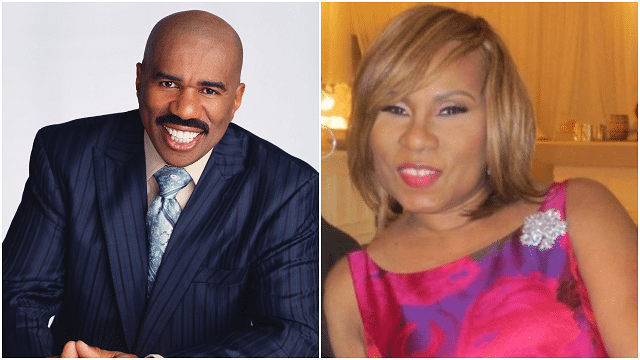 Marcia Harvey and husband Steve Harvey married in 1980 and divorced in 1994