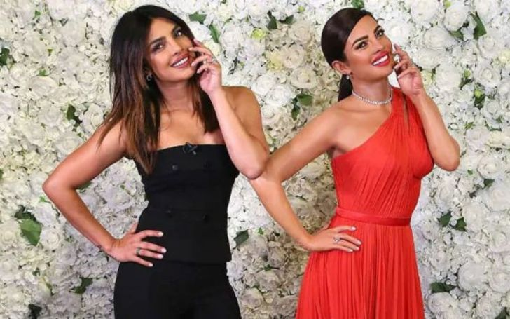 Priyanka Chopra clicks selfie with her new wax statue