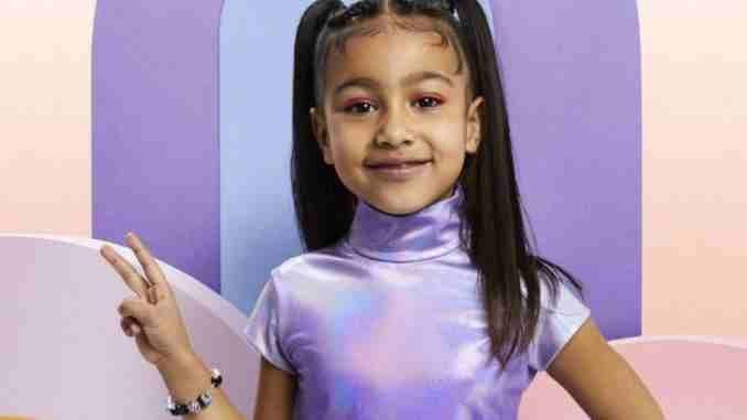 North West lands her first solo photo shoot for fashion magazine.