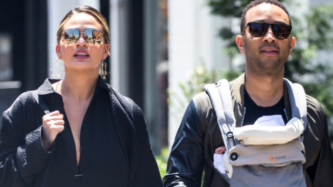 John Legend and wife Chrissy Teigen missed out on their 61st Grammys award function