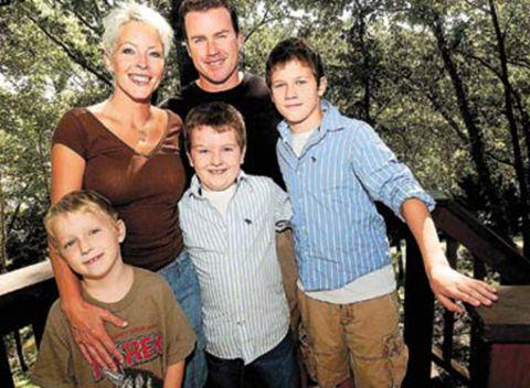 Terri Carrington with her husband; Rondy Carrington and three sons; amCarrington,George Carrington, andZac Carrington.
